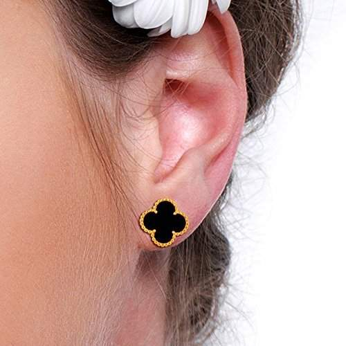 Sterling Silver Stud Earrings, 925 Silver Stud Earrings, Black Stud Earrings suppliers