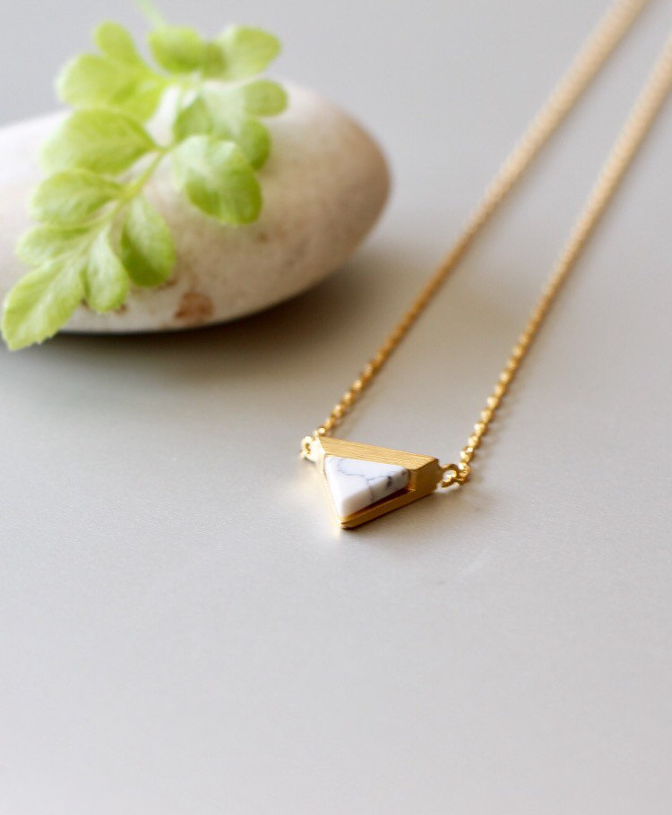 necklace branch dainty everyday tree item gold