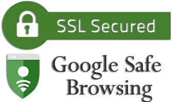 SSL Secured & Google Safe Browsing