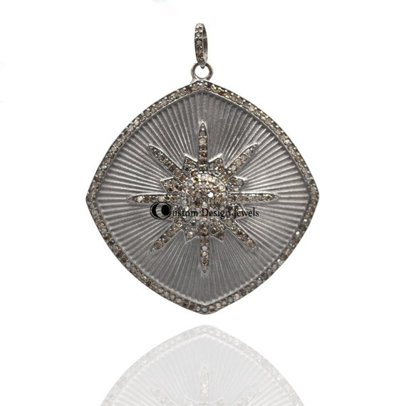 Beautiful Designer Pave Diamond Pendant jewlery
