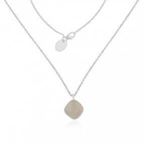 Rainbow Moonstone Fine Sterling Silver Chain Necklace Pendant Manufacturer India