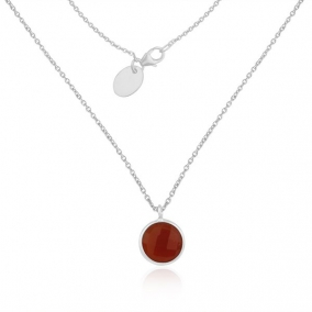 Red Onyx Gemstone 92.5 Sterling Silver Pendant Wholesale